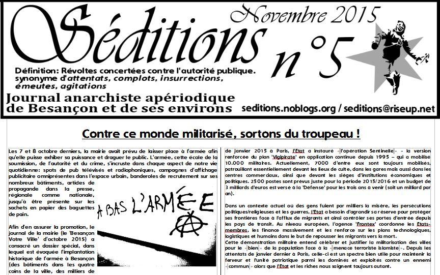 Lire/Télécharger Séditions n°5 au format PDF