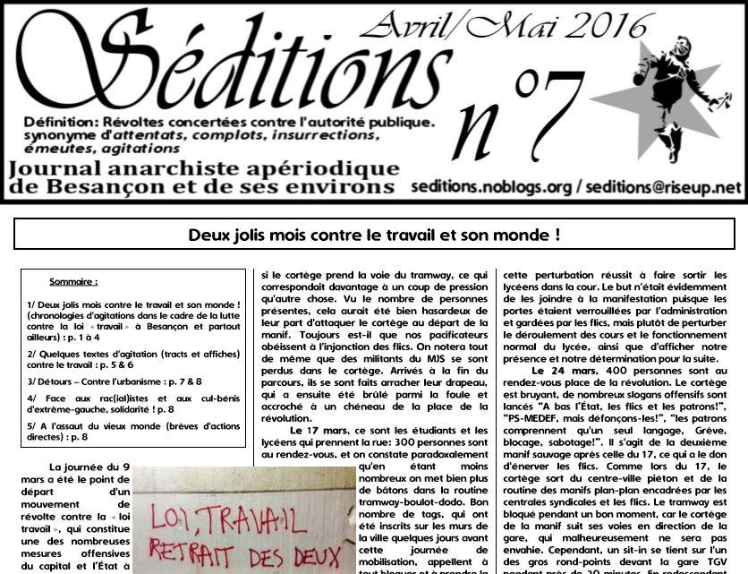 Voir/Télécharger le n°7 au format PDF